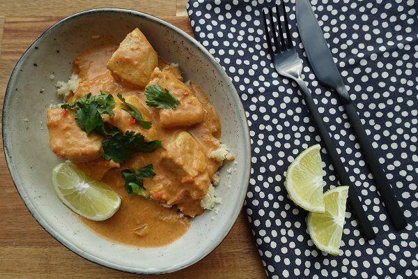 Kylling curry med blomkålris