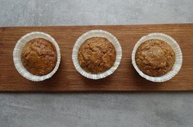Kryddermuffins med squash og gulrot