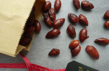 Brente mandler uten sukker