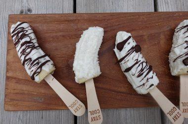 Bananis med yoghurt