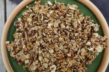 Granola med havregryn og frø
